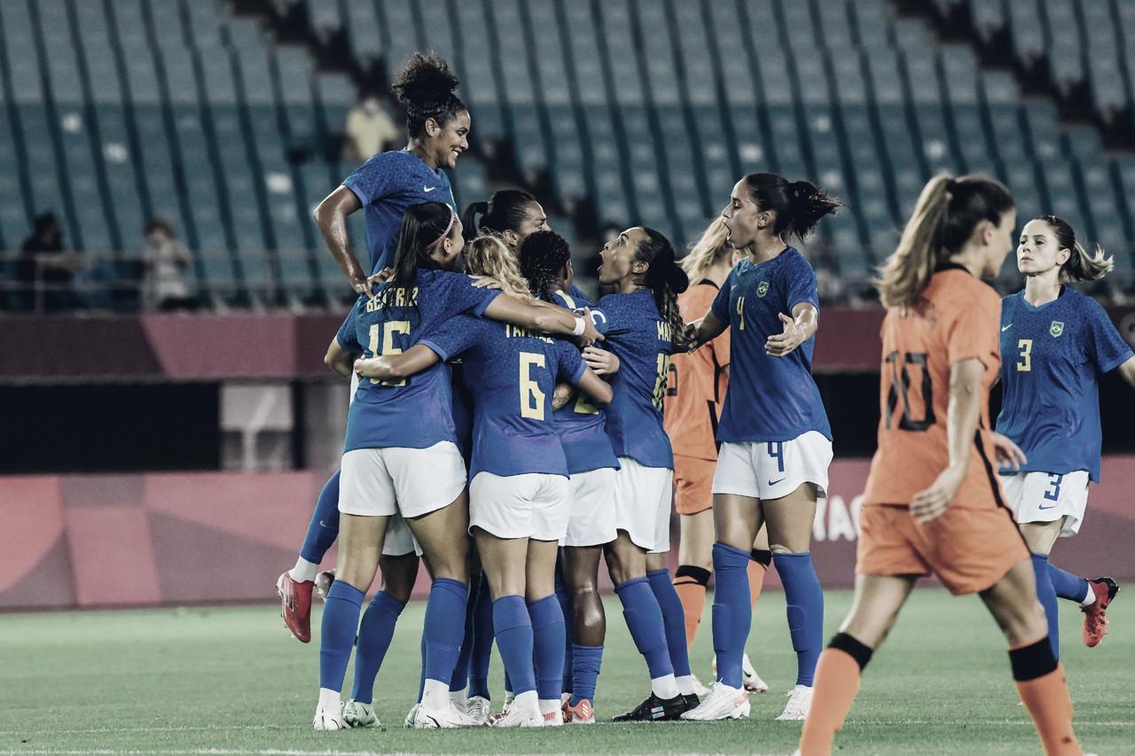 Gols e melhores momentos de Países Baixos x Brasil (3-3)