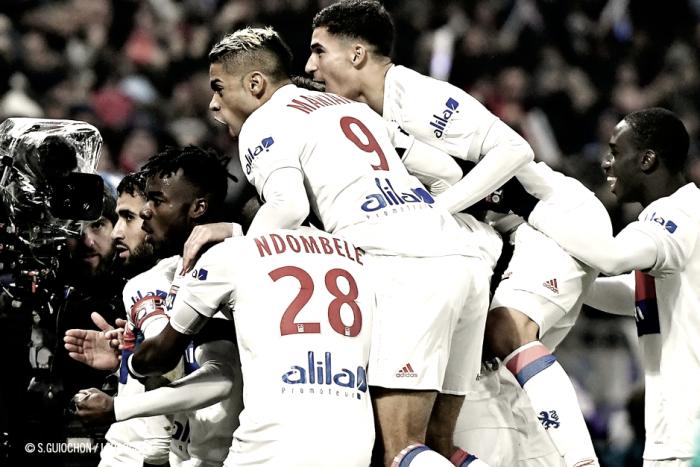 El Lyon se lleva el duelo de golazos