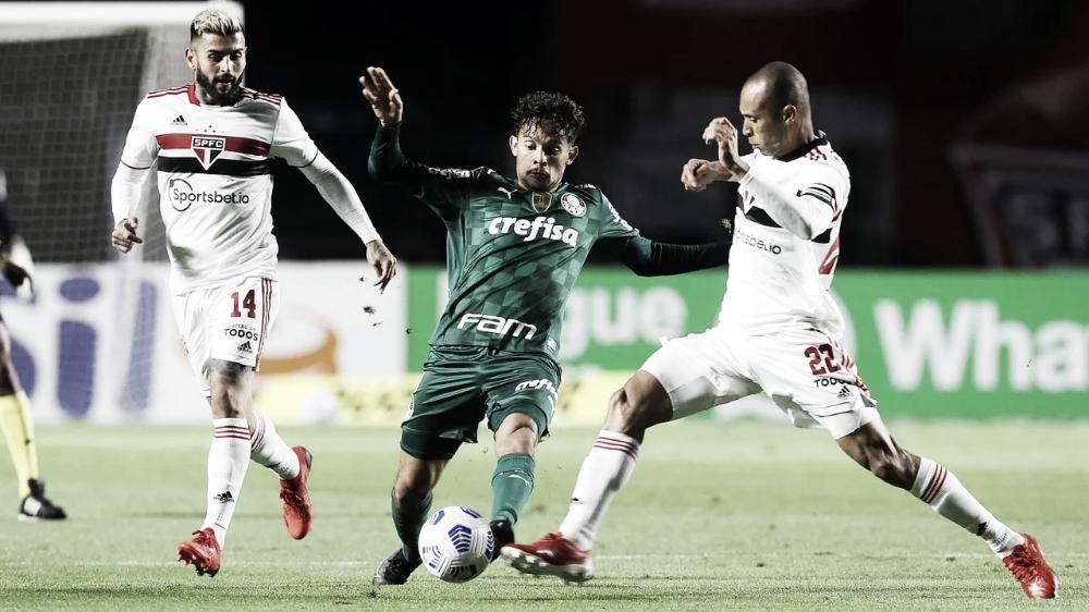 Com retrospecto favorável, São Paulo recebe Palmeiras pelas quartas da Libertadores
