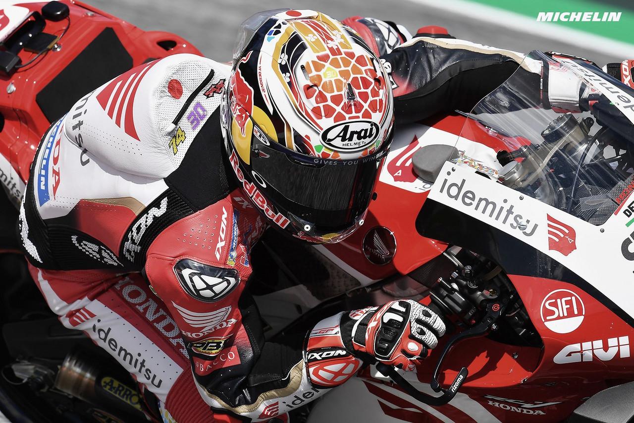 FP1 y FP2 MotoGP GP Styria: Nakagami por delante de todos