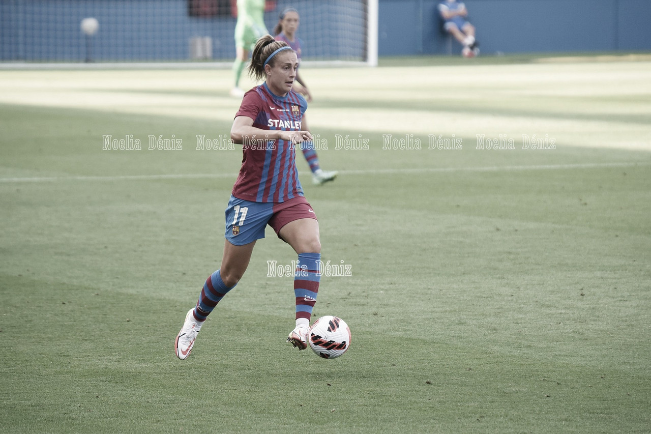 Alexia Putellas, elegida mejor jugadora europea