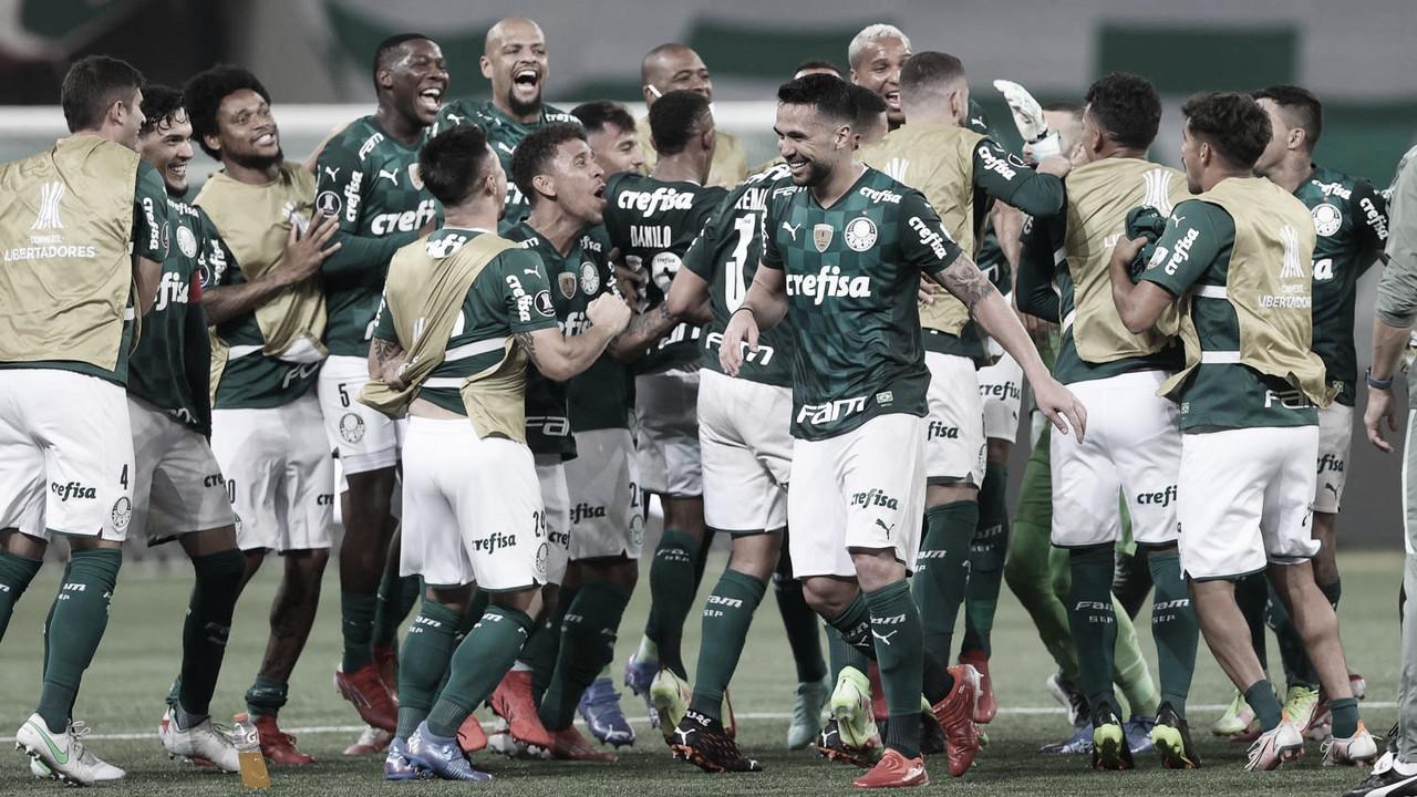 Palmeiras chega à terceira semifinal de Libertadores em quatro anos e iguala feito de dupla brasileira