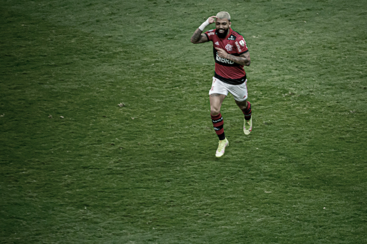 Gabigol chega aos dez gols na Libertadores e iguala marca que durava desde 2007