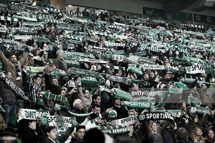 Sporting: Casa cheia na recepção ao Arouca