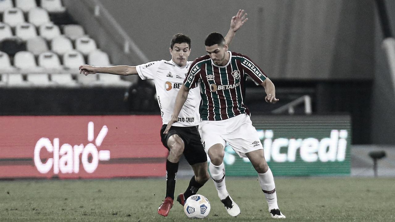 Atlético-MG e Fluminense se enfrentam em busca de vaga na semifinal da Copa do Brasil