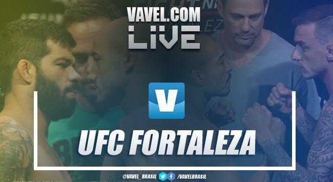 Knockouts e video Aldo vs Moicano e Assunção vs Moraes no UFC Fortaleza 2019