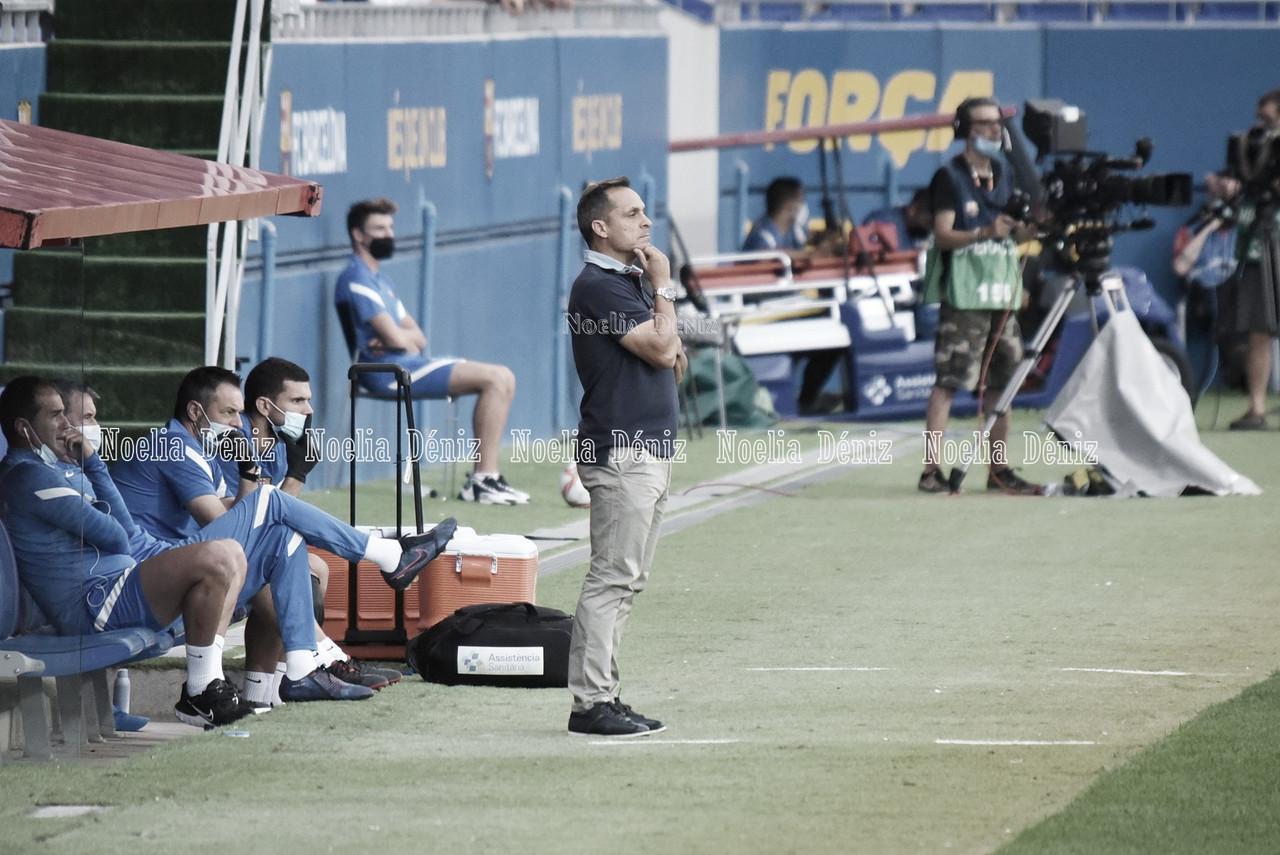 """Sergi Barjuán: """"Tenemos que hacernos fuertes con la posesión de balón"""""""