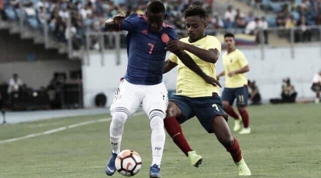Colombia complicó su clasificación al mundial sub-20 de Polonia