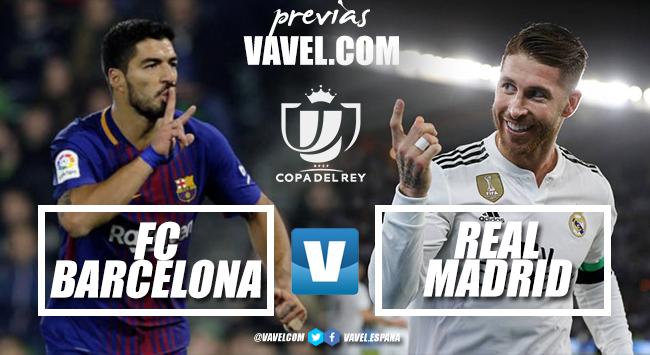 Previa FC Barcelona-Real Madrid CF: el examen definitivo