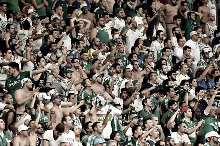 Palmeiras é punido por briga de torcedores em jogo contra o Sport