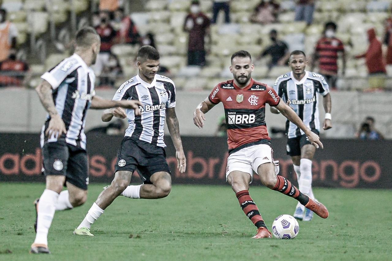 Flamengo e Grêmio se enfrentam outra vez na semana, agora pelo Brasileirão