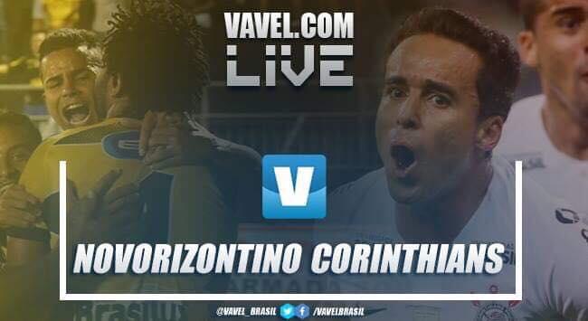 Resultado e gol Novorizontino x Corinthians pelo Campeonato Paulista 2019