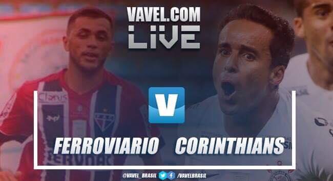 Resultado e gols Ferroviáro 2 x 2 Corinthians pela Copa do Brasil 2019