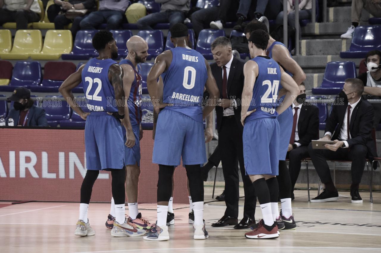 """Sarunas Jasikevicius: """"Hemos ganado el partido jugando bastante mal"""""""