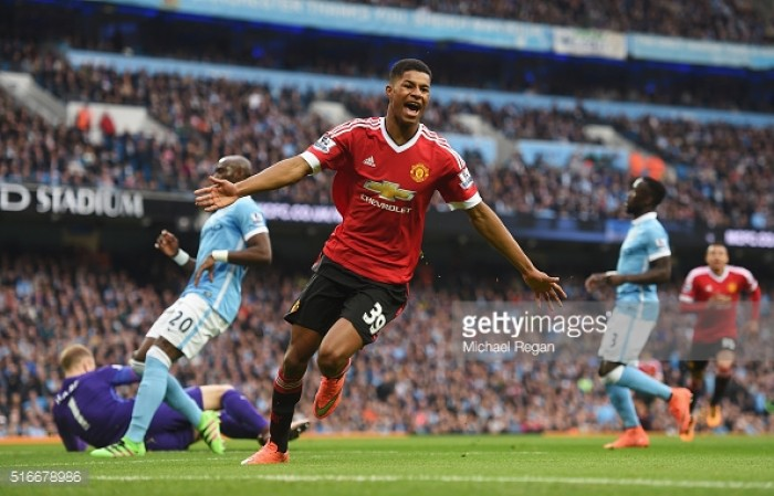Rashford dreaming of winner in Manchester derby at Old Trafford