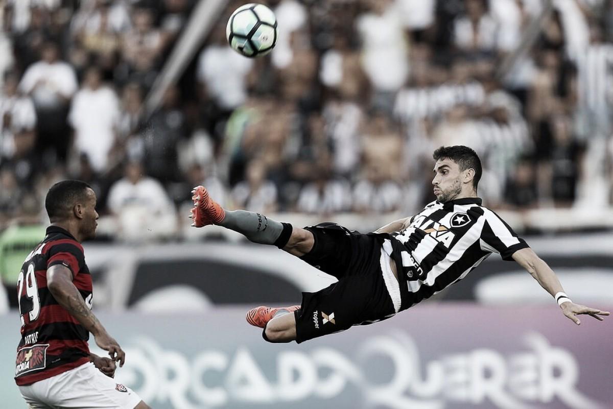 Buscado reabilitação, Botafogo recebe Vitória pelo Brasileiro