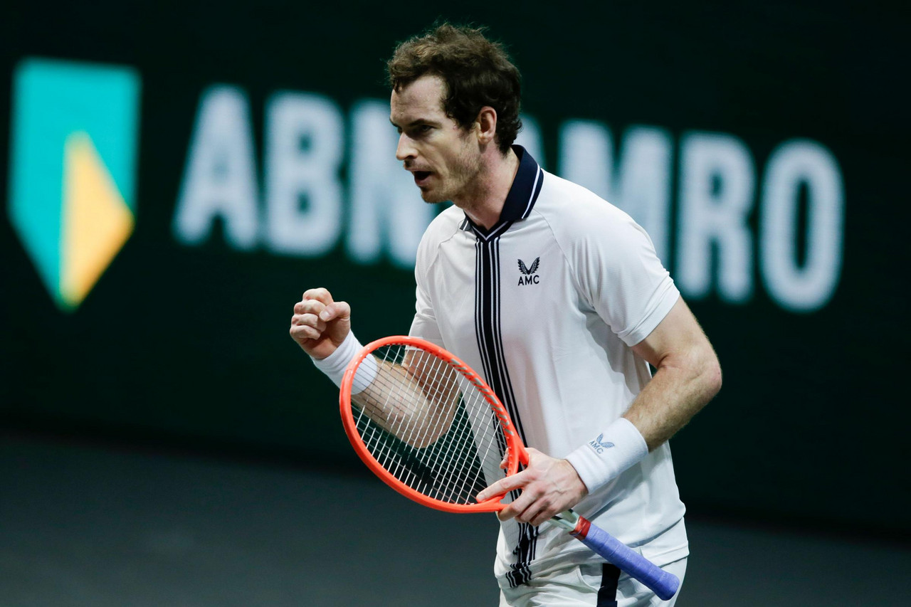 ATP Rotterdam: Andy Murray produces stirring comeback to defeat Robin Haase