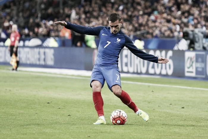 """Griezmann exalta convocação da França: """"Tem qualidade para ganhar a Euro"""""""