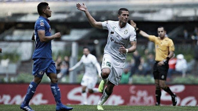Cae Cruz Azul contra Santos