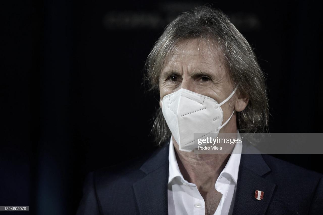 "Ricardo Gareca: ""Se ha logrado un triunfo importante"""