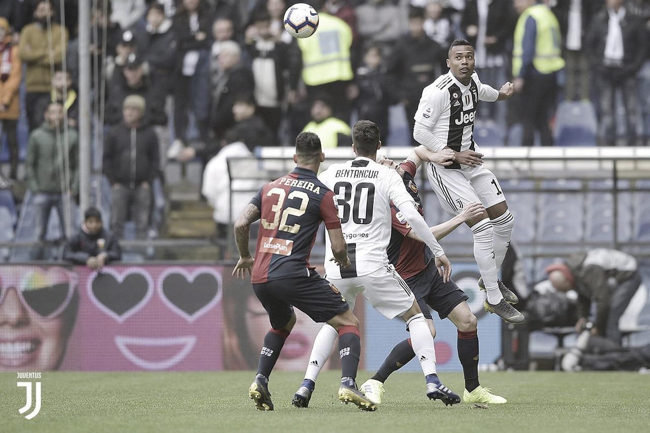 Poupando titulares, Juventus cai para Genoa e perde invencibilidade na Serie A