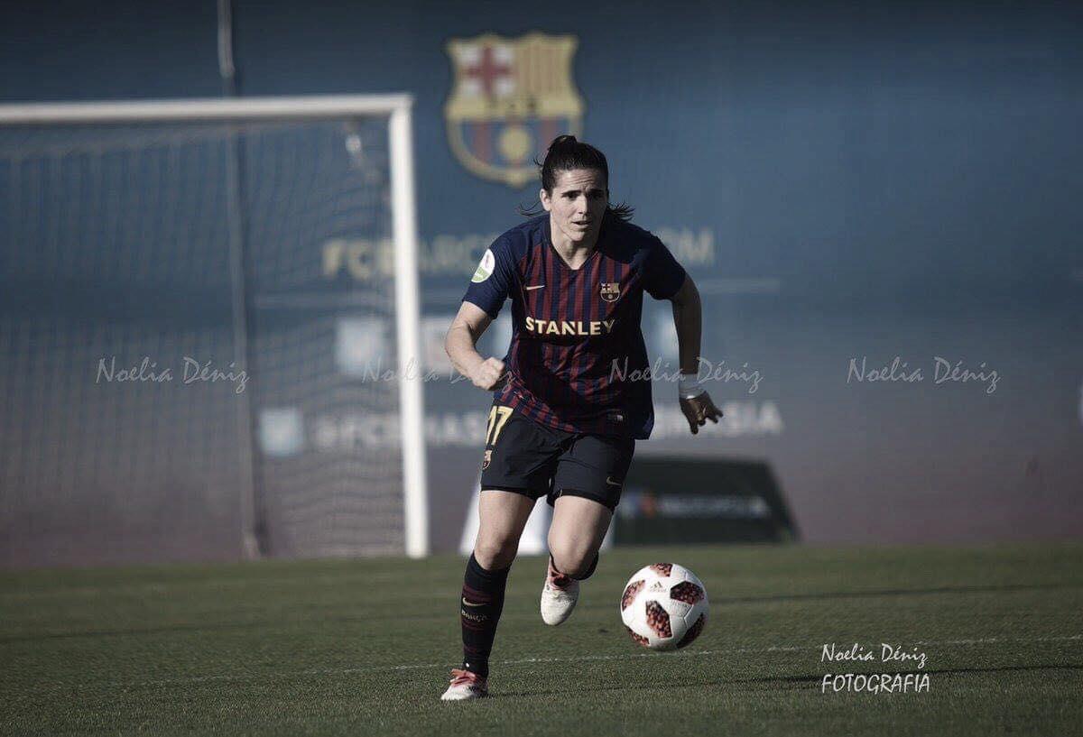 """Andrea Pereira: """"Empezamos el partido con el objetivo de marcar rápido y lo hemos conseguido"""""""