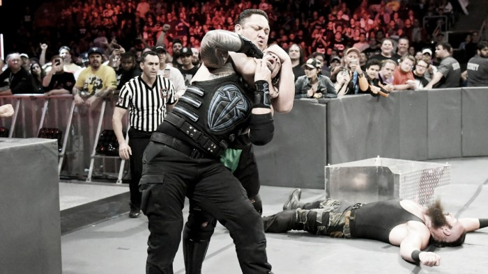 Samoa Joe le da la victoria a Strowman