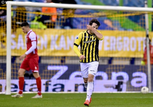 El Vitesse quiere apurar sus opciones