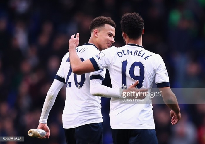 Dele Alli: Moussa Dembele is the best footballer in the Tottenham squad