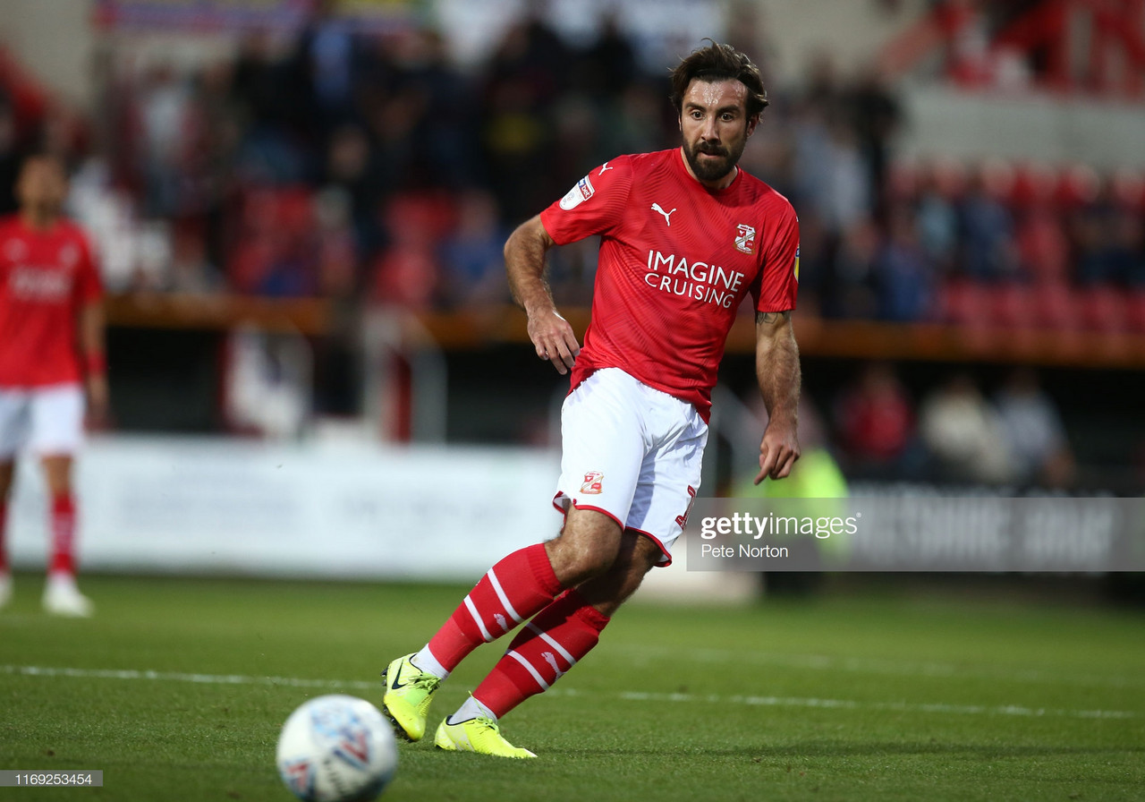Michael Doughty: The English 'Regista' playing an instrumental role in Swindon's title challenge