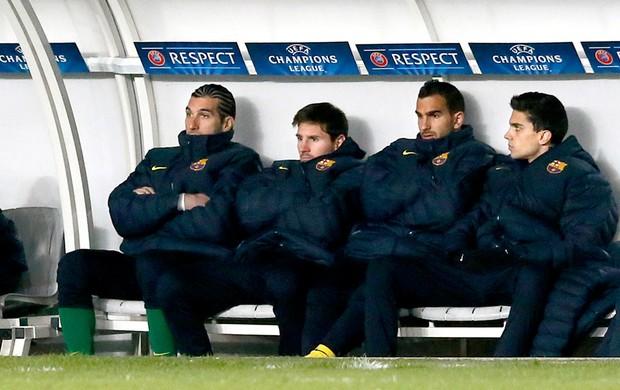 Messi se lesiona e desfalca o Barcelona na volta diante do PSG