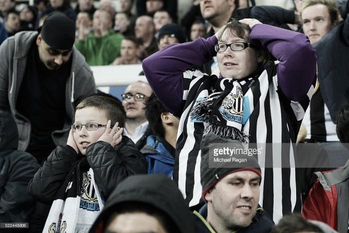 Newcastle em risco de descida