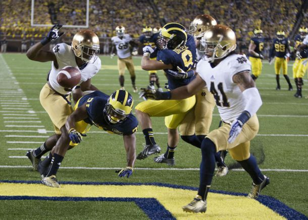 Michigan Wolverines - Notre Dame Fighting Irish Live Score and Result of 2014 College Football