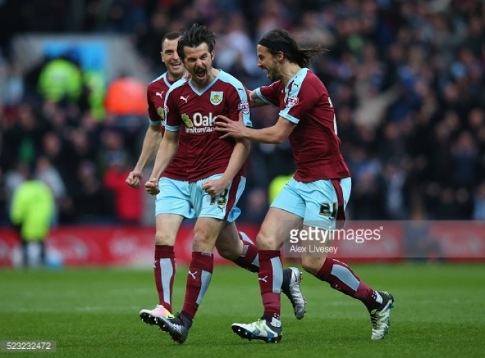 Barton back in England with former club Burnley