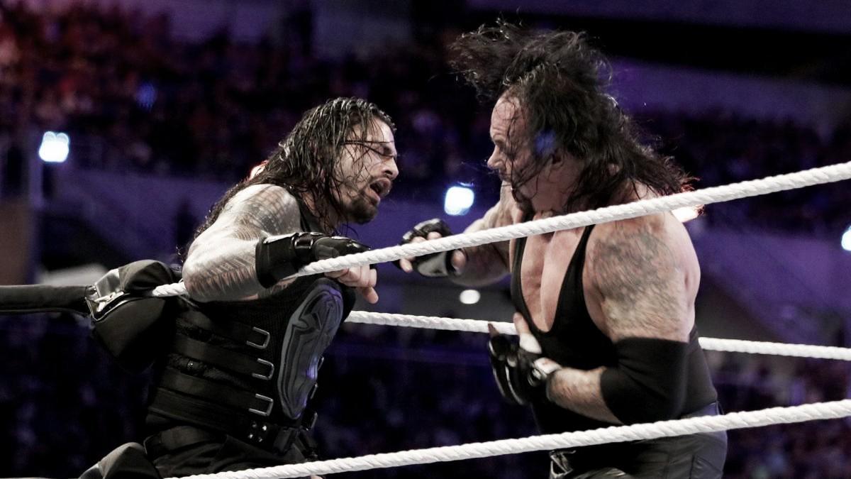La vista al pasado: Roman Reigns vs The Undertaker, Wrestlemania 33