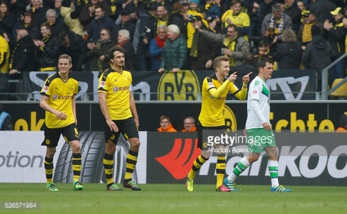 Dortmund notches another big win, beats Wolfsburg 5-1