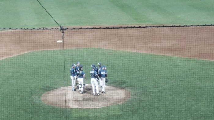 St. Paul Saints win 10-3 over Kansas City T-Bones