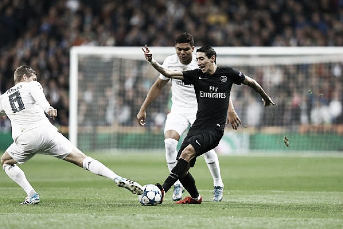 Primeiro grande ato: Real Madrid e Paris Saint-Germain iniciam batalha nas oitavas da UCL