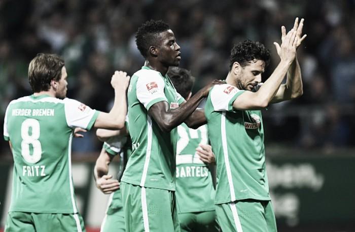 Werder Bremen goleia Stuttgart e deixa zona de rebaixamento da Bundesliga
