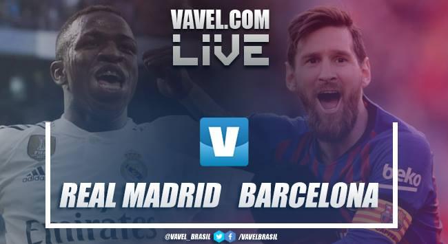 Resultado e gols Real e Barcelona pela Copa do Rei 18/19
