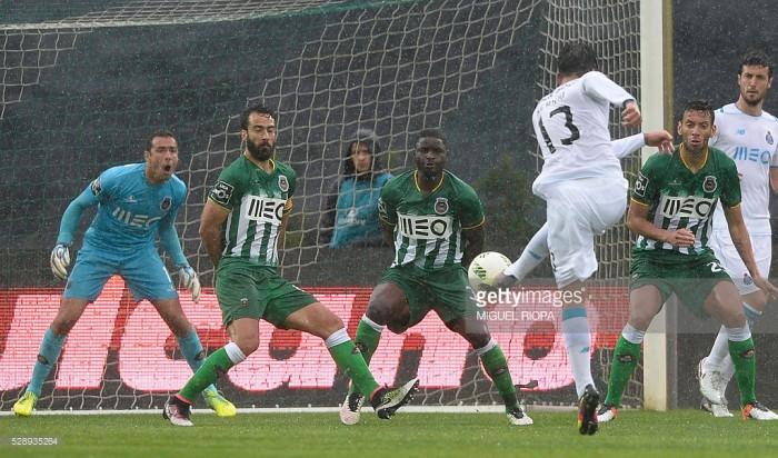 Rio Ave 1-3 FC Porto: «dragão» renovado cumpre e deixa Vila do Conde mais longe da Europa