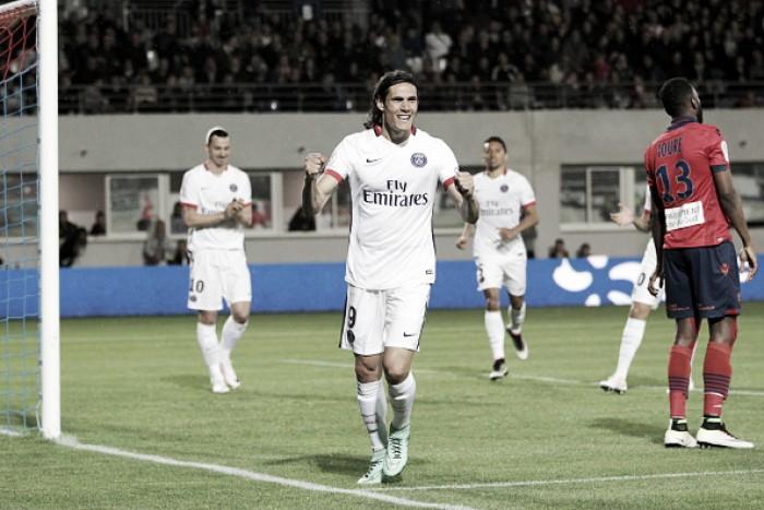 Com hat-trick de Cavani, PSG goleiaGazélec Ajaccio na penúltima rodada da Ligue 1