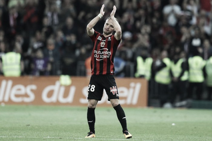 Atacante Germain marca dois no fim e ajuda Nice a bater Saint-Étienne