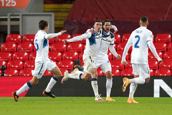 Impresa dell'Atalanta ad Anfield: battuto il Liverpool 2-0!