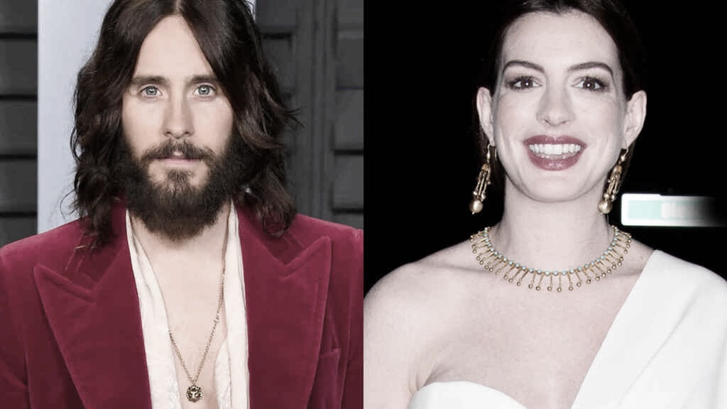 Anne Hathaway y Jared Leto fichan por Apple+