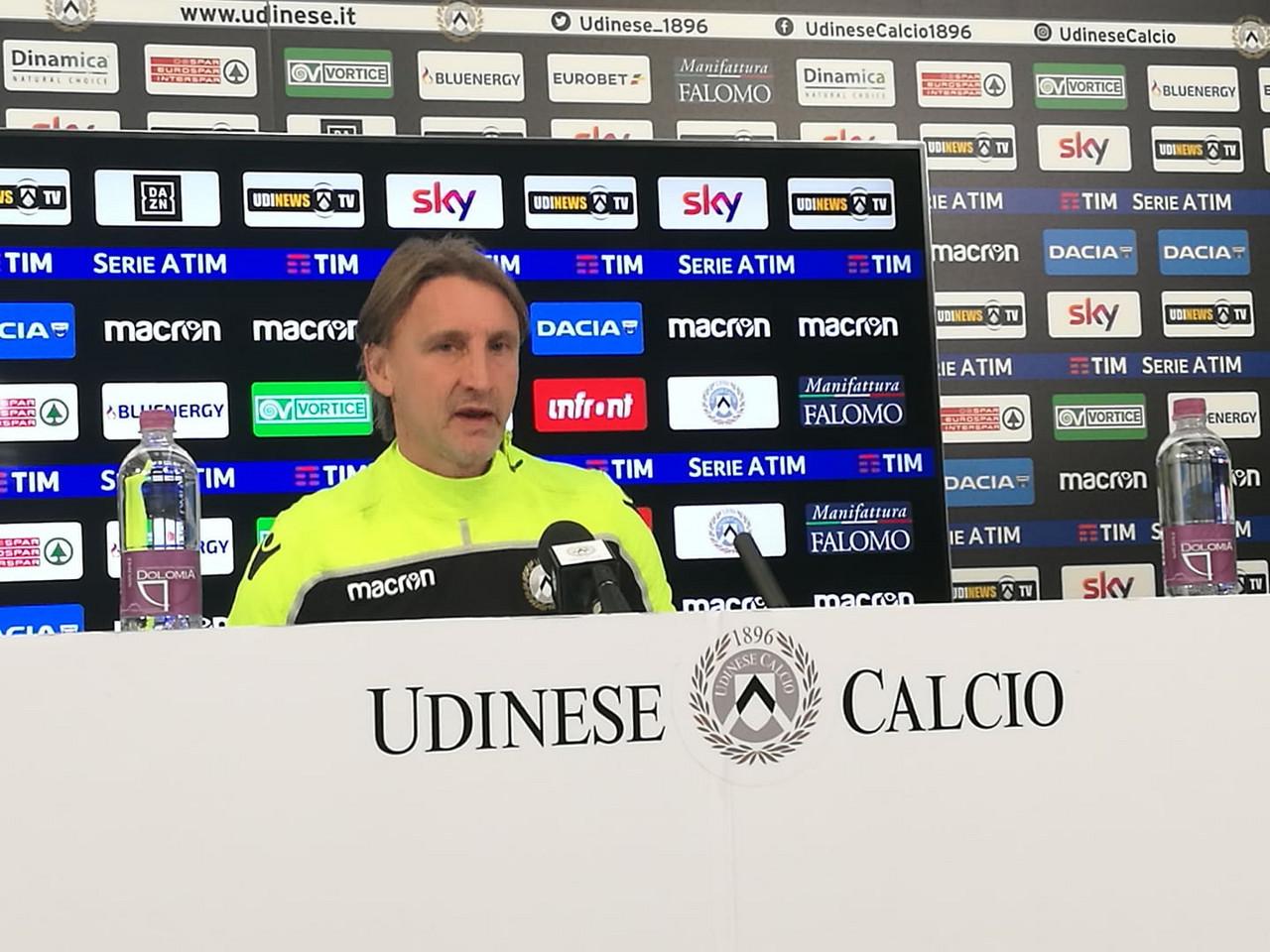 """Udinese - Nicola: """"Contro il Bologna ci saranno novità, voglio una squadra propositiva"""""""