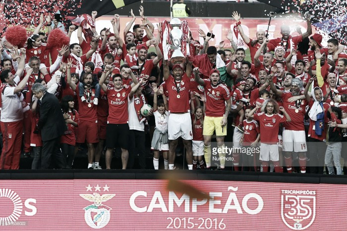 Benfica festeja o seu 35º titulo