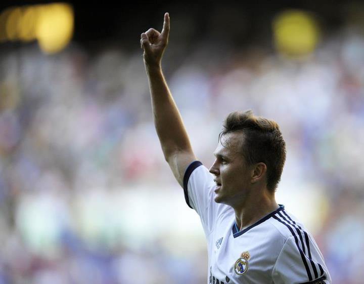El Real Madrid Castilla coge velocidad y golea a la Gimnástica de Torrelavega