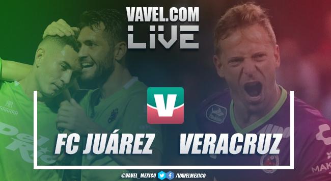 FC Juárez vs Veracruz en vivo online en Cuartos de Final Copa MX 2019 (0-0)