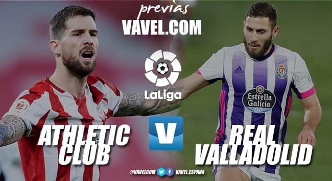 Previa Athletic Club - Real Valladolid: la lucha por Europa y por la salvación
